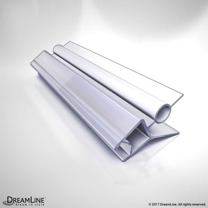 rail right metal chrome drip wipe door shower piece seals sweep replacement framed